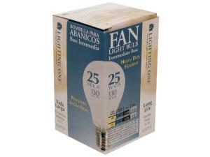 Wholesale: Inside Frost 25 Watt Fan Light Bulb