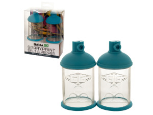 Wholesale: Spraypaint Can Salt & Pepper Shakers Set