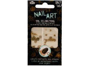 Gold Nail Art Nail Decorations