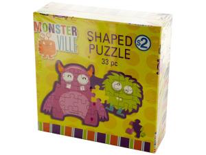 Wholesale: Monsterville Shaped Puzzle