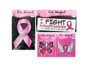 Breast Cancer Awareness Car Magnet