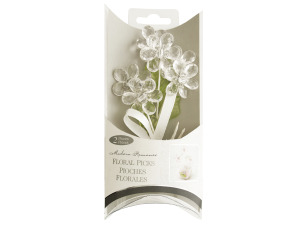 Wholesale: Clear Jewel Daisy Floral Picks