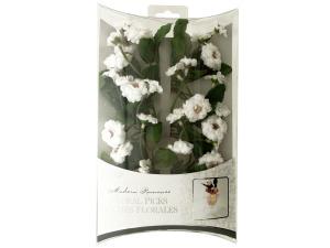 Wholesale: Apple Blossom Floral Picks