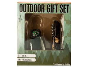 Wholesale: Outdoor Multi-Function Tool Gift Set