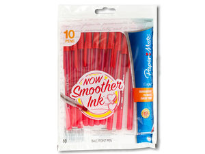 Wholesale: Paper Mate Eagle Red Ballpoint Pens Set