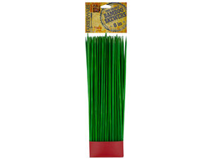 Wholesale: Farberware Green Food Colored Bamboo Skewers