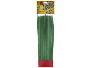 Wholesale: Farberware Olive Green Food Colored Bamboo Skewers
