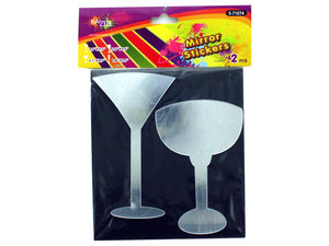 Wholesale: Cocktail Mirror Stickers