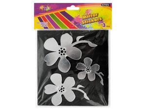 Wholesale: Mirror Flower Wall Stickers