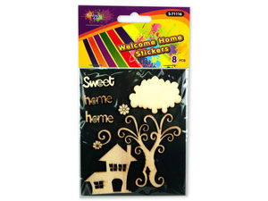 Wholesale: Welcome Home Stickers