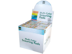 Wholesale: Scouring Sponge Pad Set Countertop Display