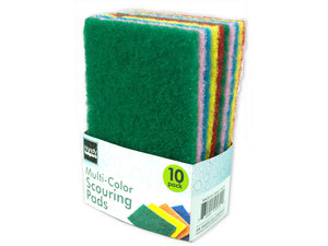 Multi-Colored Scouring Pads