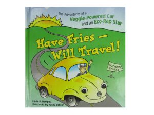 """Wholesale: """"Have Fries -- Will Travel""""! children's book"""