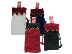 Wholesale: Felt bottle bag, assorted colors.