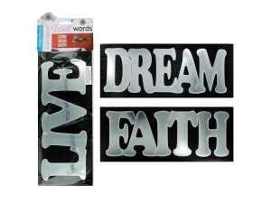 Wholesale: Self-Adhesive Inspirational Words Wall Decor