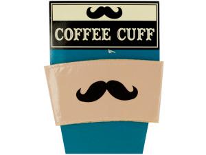 Wholesale: Mustache Coffee Cuff