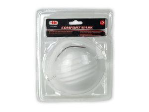 Wholesale: 5 Pack Comfort Dust Filter Mask