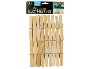 Wholesale: Wooden Clothespins