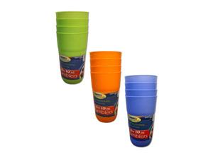 Wholesale: Plastic tumblers (set of 4)