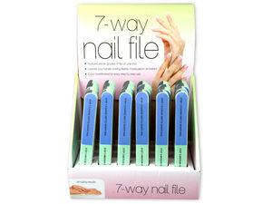 Wholesale: 7-Way Nail File Countertop Display