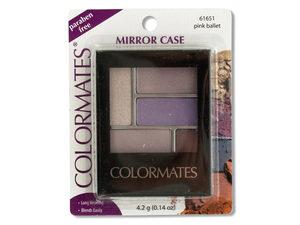 Colormates Pink Ballet Mirror Case Eye Shadow
