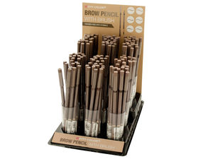 City Color Brow Pencil with Brush Countertop Display