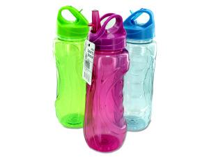 Wholesale: 28 oz. Sports Water Bottle with Flip Straw
