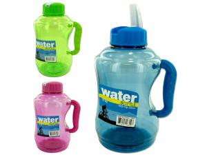 Wholesale: 57 oz. Water Bottle with Flip Straw