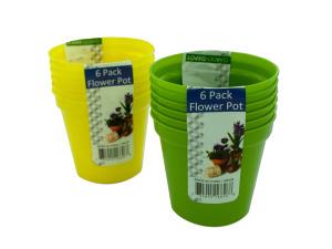 Plastic Flower Pots Set