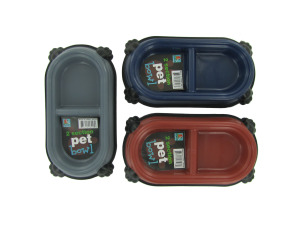 Wholesale: Two-section pet dish