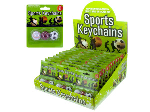 Wholesale: Sports Keychains Counter Top Display