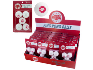 Wholesale: Ohio Ping Pong Ball Countertop Display