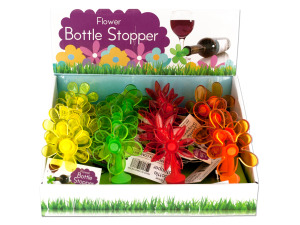 Wholesale: Flower Bottle Stopper Counter Top Display