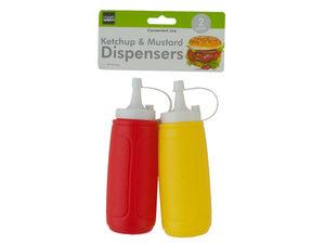 Wholesale: Ketchup & Mustard Dispenser Set