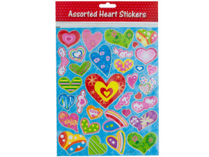 Wholesale: Heart Stickers