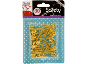 Wholesale: Jumbo Gold Tone Safety Pins