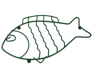 Green Wire Fish Trivet