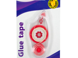 Wholesale: Glue Tape in Clear Dispenser