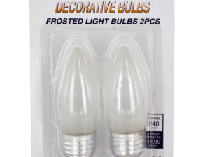 Wholesale: Decorative Frosted Light Bulbs