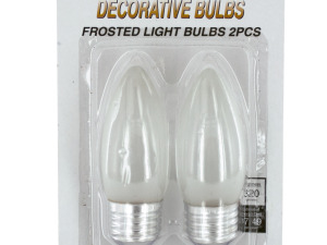 Wholesale: Frosted Decorative Light Bulbs Set