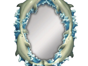 Wholesale: Small Dolphins Mirror