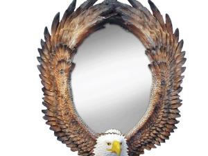Wholesale: Eagle Oval Wall Mirror