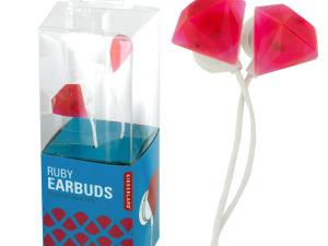 Ruby Jewel Earbuds