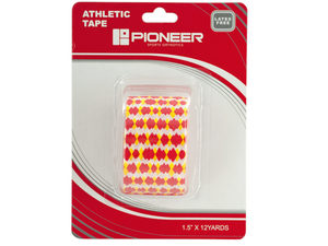 Pioneer Red & Yellow Dots Athletic Tape