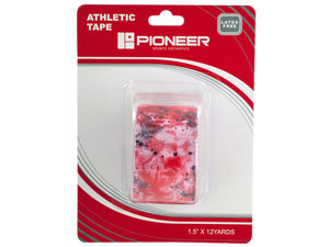 Pioneer Red & Black Athletic Tape