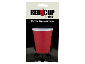 Red Cup Living Bicycle Squeaker Horn