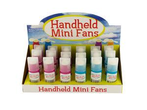 Wholesale: Handheld Mini Fans Countertop Display
