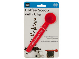 Wholesale: Coffee Scoop with Bag Clip