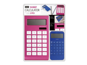 Wholesale: 10-Digit Calculator Set