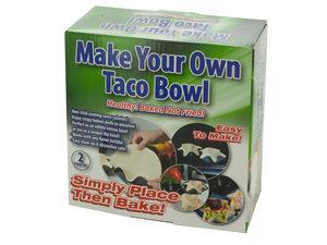 Wholesale: Make Your Own Taco Bowl Set